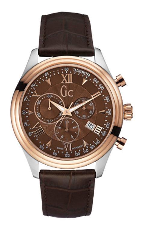 GC Y04003G4 Ανδρικό Ρολόι Quartz Χρονογράφος Ακριβείας