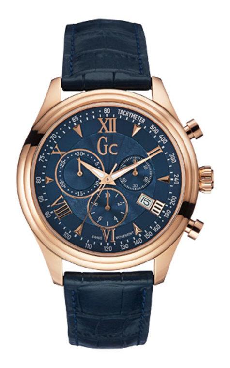 GC Y04008G7 Ανδρικό Ρολόι Quartz Χρονογράφος Ακριβείας