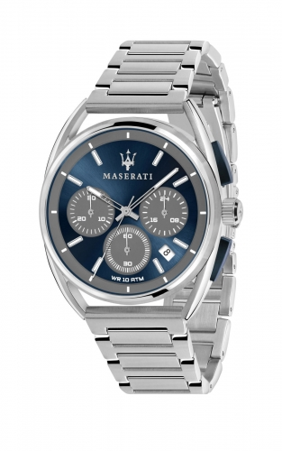 MASERATI TRIMARANO R8873632004 Ανδρικό Ρολόι Quartz Χρονογράφος Ακριβείας