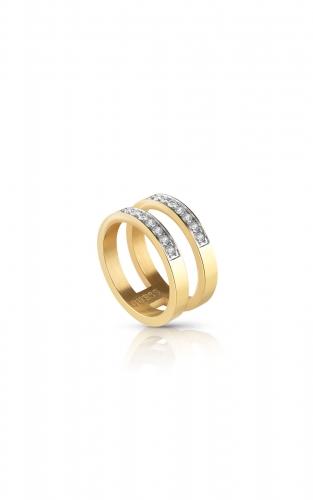 GUESS STEEL UBR78007-52 Χρυσό Δίβερο Δαχτυλίδι