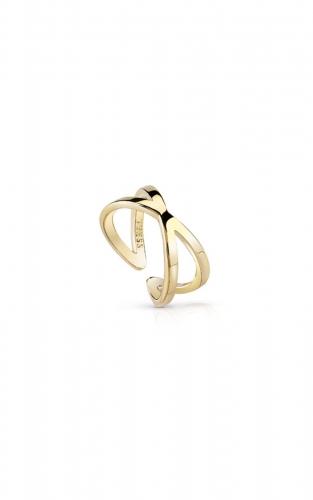 GUESS FAUX JUBR84005JW-54 Χρυσό Δαχτυλίδι