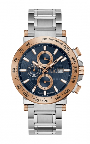GC Y37003G7 Ανδρικό Ρολόι Quartz Χρονογράφος Ακριβείας