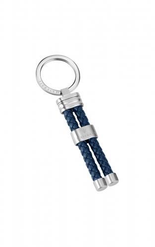 MASERATI KMU2190104 Μπλε Δερμάτινο Μπρελόκ