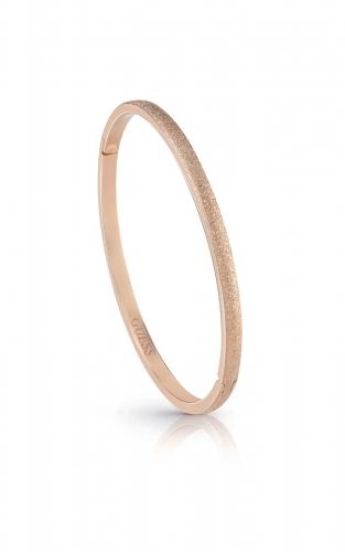 GUESS STEEL UBB28131-S Ροζ Χρυσό Βραχιόλι