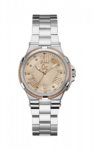GC Y34007L3 Γυναικείο Ρολόι Quartz Ακριβείας