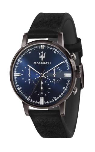 MASERATI POTENZA R8871630002 Ανδρικό Ρολόι Dual Time