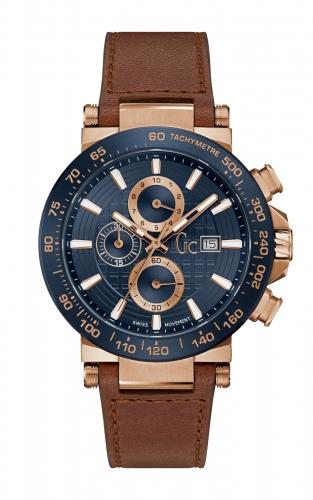 GC Y37002G7 Ανδρικό Ρολόι Quartz Χρονογράφος Ακριβείας