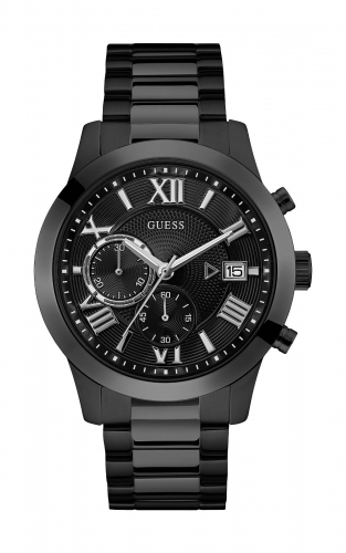GUESS W0668G5 Ανδρικό Ρολόι Quartz Χρονογράφος Ακριβείας