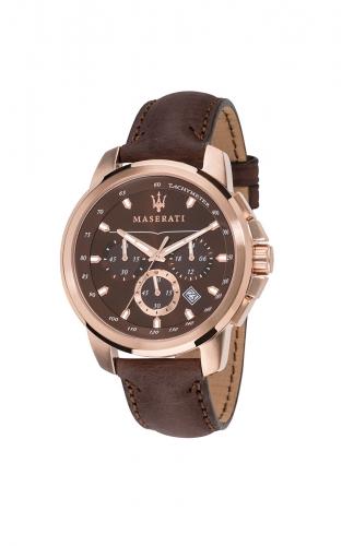 MASERATI SUCCESSO  R8871621004 Ανδρικό Ρολόι Quartz Χρονογράφος Ακριβείας