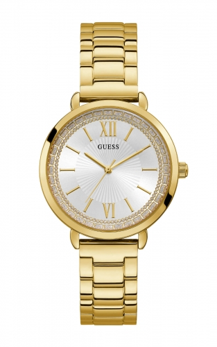 GUESS W1231L2 Γυναικείο Ρολόι Quartz Ακριβείας