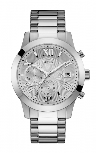 GUESS W0668G7 Ανδρικό Ρολόι Quartz Χρονογράφος Ακριβείας