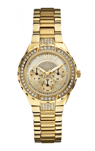 Guess W0111L2 Γυναικείο Ρολόι Quartz Multi-Function
