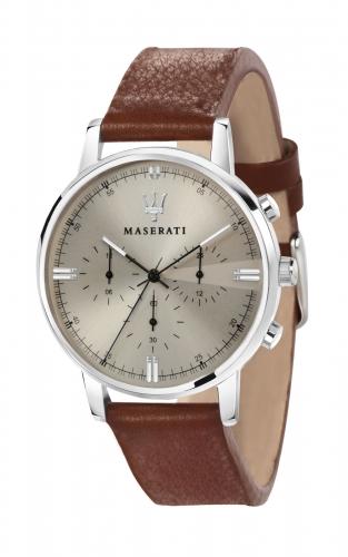 MASERATI POTENZA R8871630001 Ανδρικό Ρολόι Dual Time