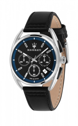 MASERATI TRIMARANO R8871632001 Ανδρικό Ρολόι Quartz Χρονογράφος Ακριβείας
