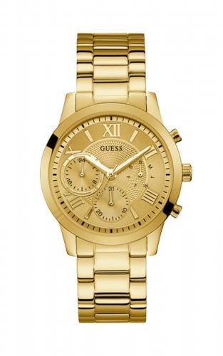 Guess W1070L2 Γυναικείο Ρολόι Quartz Χρονογράφος Ακριβείας