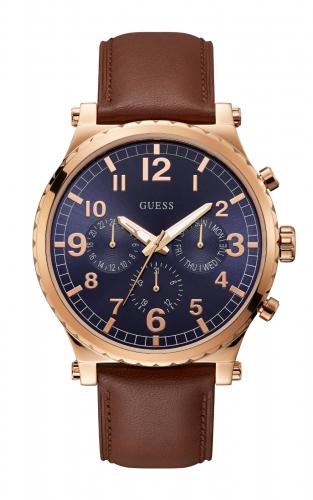 GUESS W1215G1 Ανδρικό Ρολόι Quartz Χρονογράφος Ακριβείας