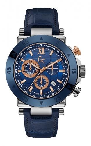 GC X90013G7S Ανδρικό Ρολόι Quartz Χρονογράφος Ακριβείας