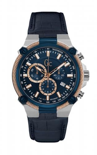 GC Y24001G7 Ανδρικό Ρολόι Quartz Χρονογράφος Ακριβείας