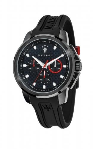 MASERATI SFIDA R8851123007 Ανδρικό Ρολόι Dual Time