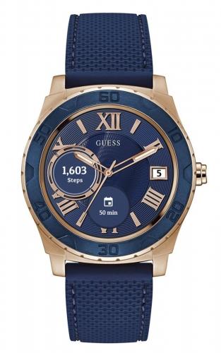 Guess Connect C1001G2 Ανδρικό Ρολόι Smartwatch