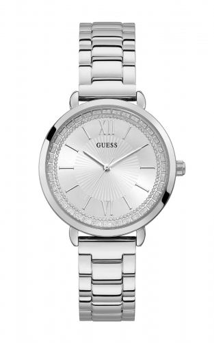 GUESS W1231L1 Γυναικείο Ρολόι Quartz Ακριβείας